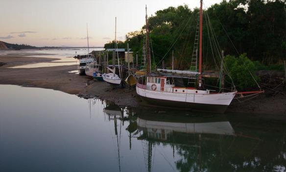 Yepoon low tide