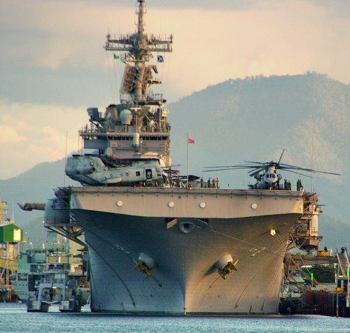 US Navy ship - Cairns