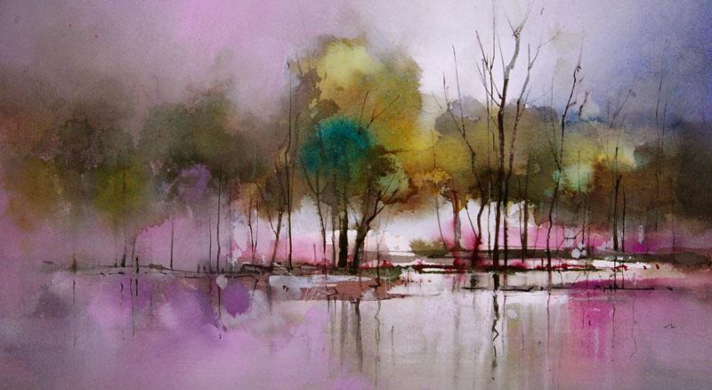 wetland painting