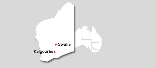 kalgoorlie map