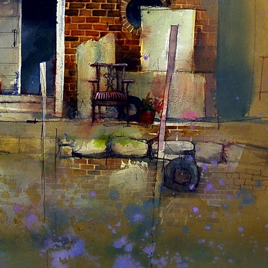 Watercolor artist john lovett internet kerfluffle for John s painting