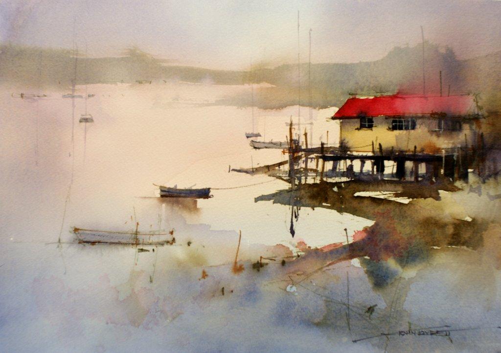 Presenting john lovett s watercolor paintings xenia nova for Watercolor art prints for sale