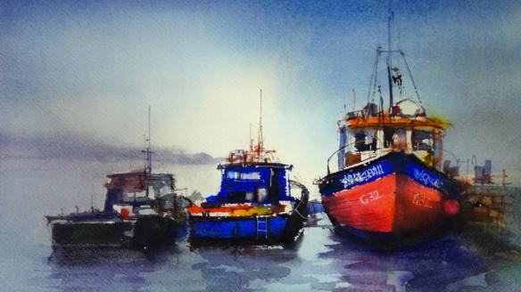 Resting Trawlers