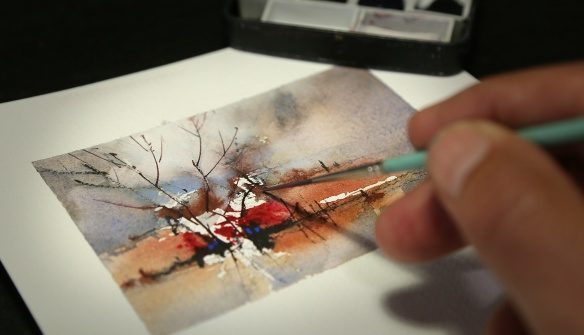 Small Watercolor Painting